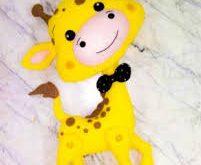 فروش عروسک نمدی زرافه