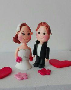 فروش عمده عروسک خمیری روی کیک