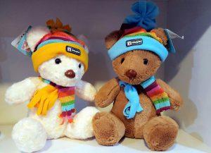 فروش زیباترین عروسک پولیشی خرس