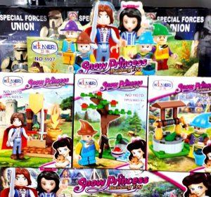 فروش عمده انواع لگو عروسکی ریز
