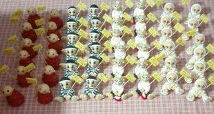 فروش عمده عروسک خمیری دست ساز