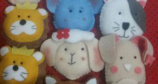 فروش عمده عروسک نمدی آویز